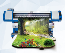 Guangzhou manufacturer Elephant Sublimation printer with double Epson dx5 printheads