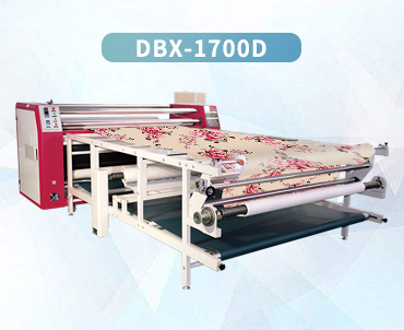 Large format garment rotary heat transfer printing roll to roll heat transfer machine    