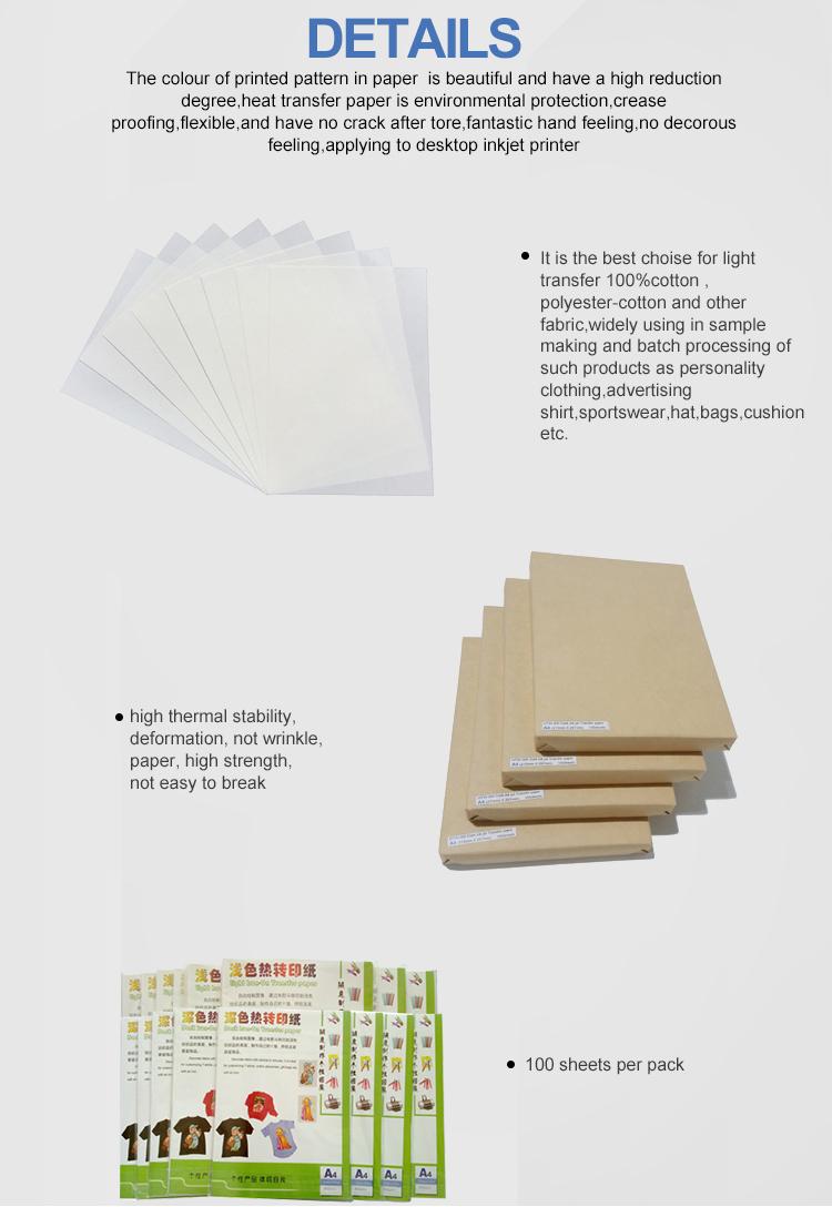 Inkjet dark and light paper