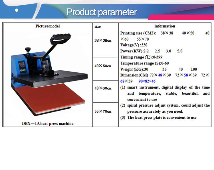 High-pressure heat press machine